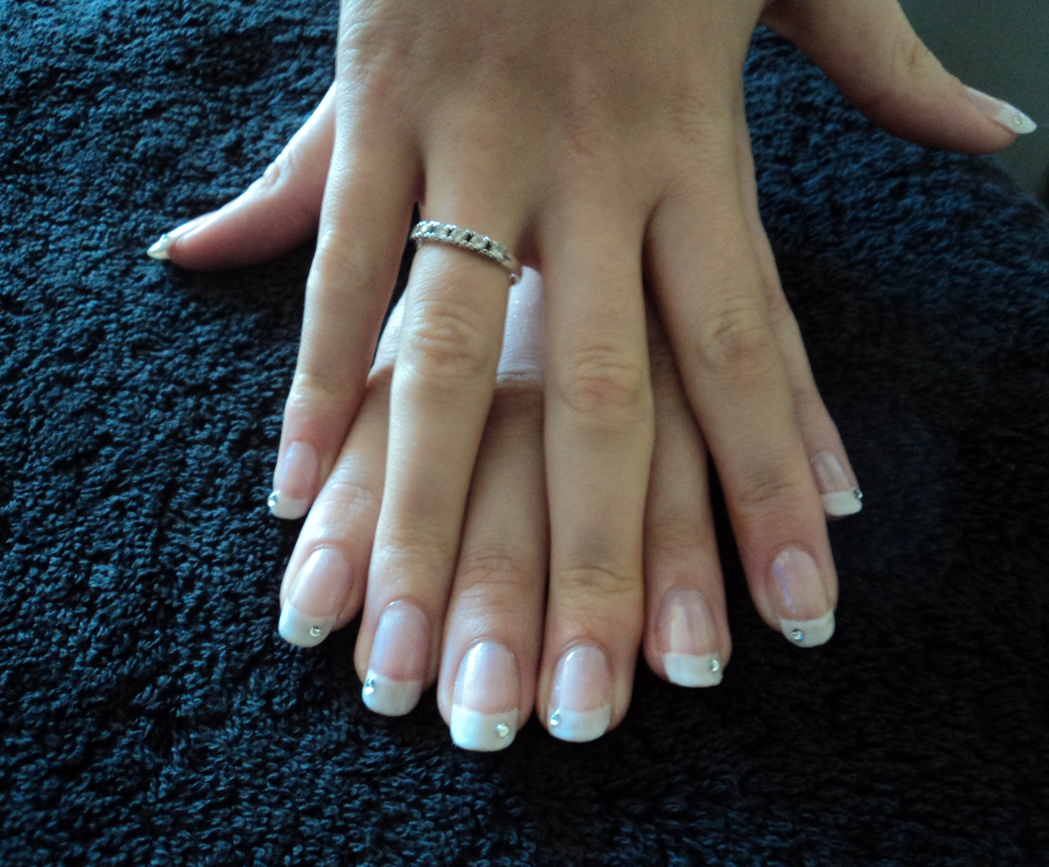 Shellac french manicure eastleigh winchester